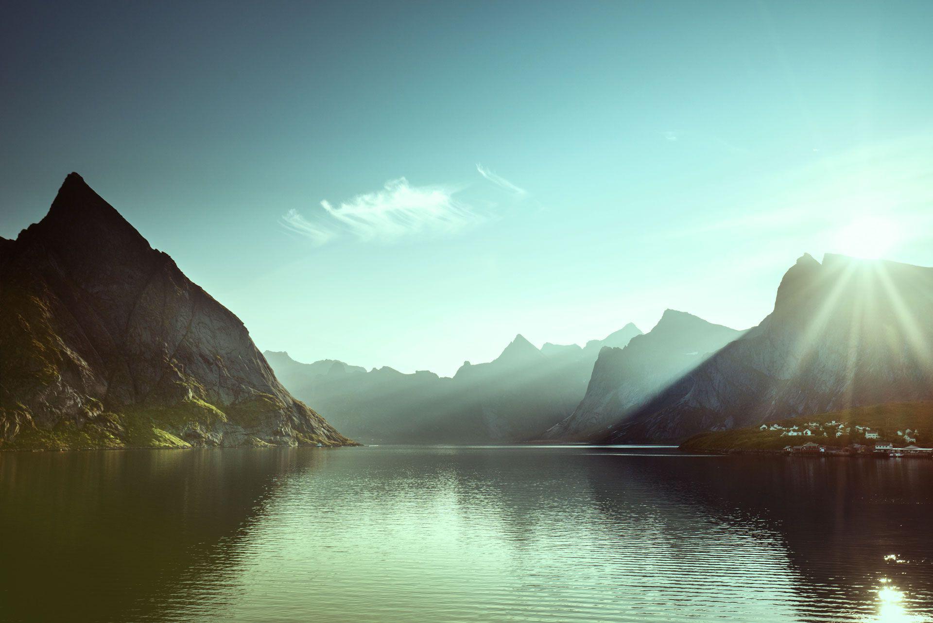 Vann og fjell