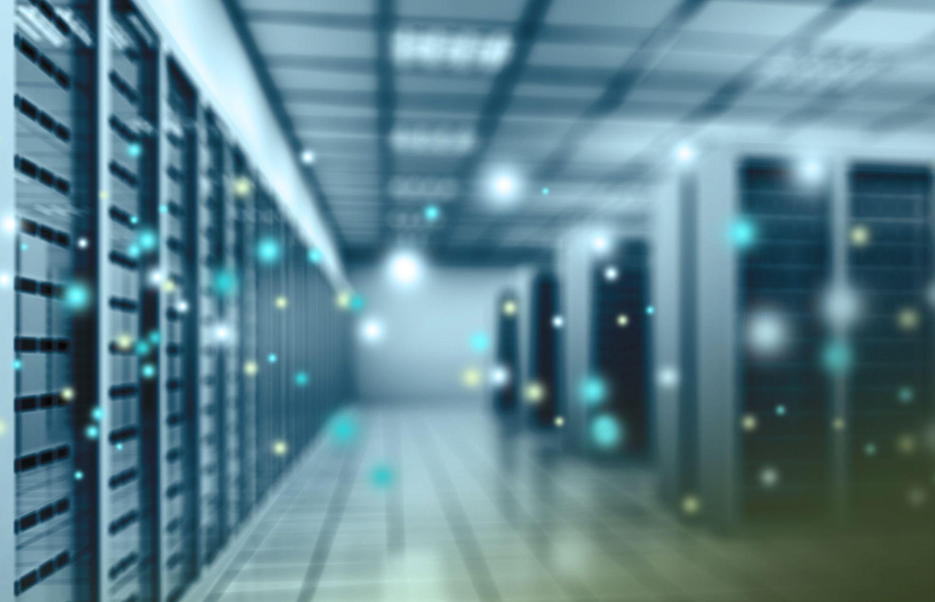 Online backup serverområde