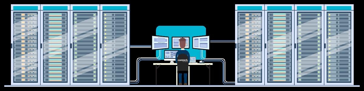 Serviceavtale comtech illustrasjon