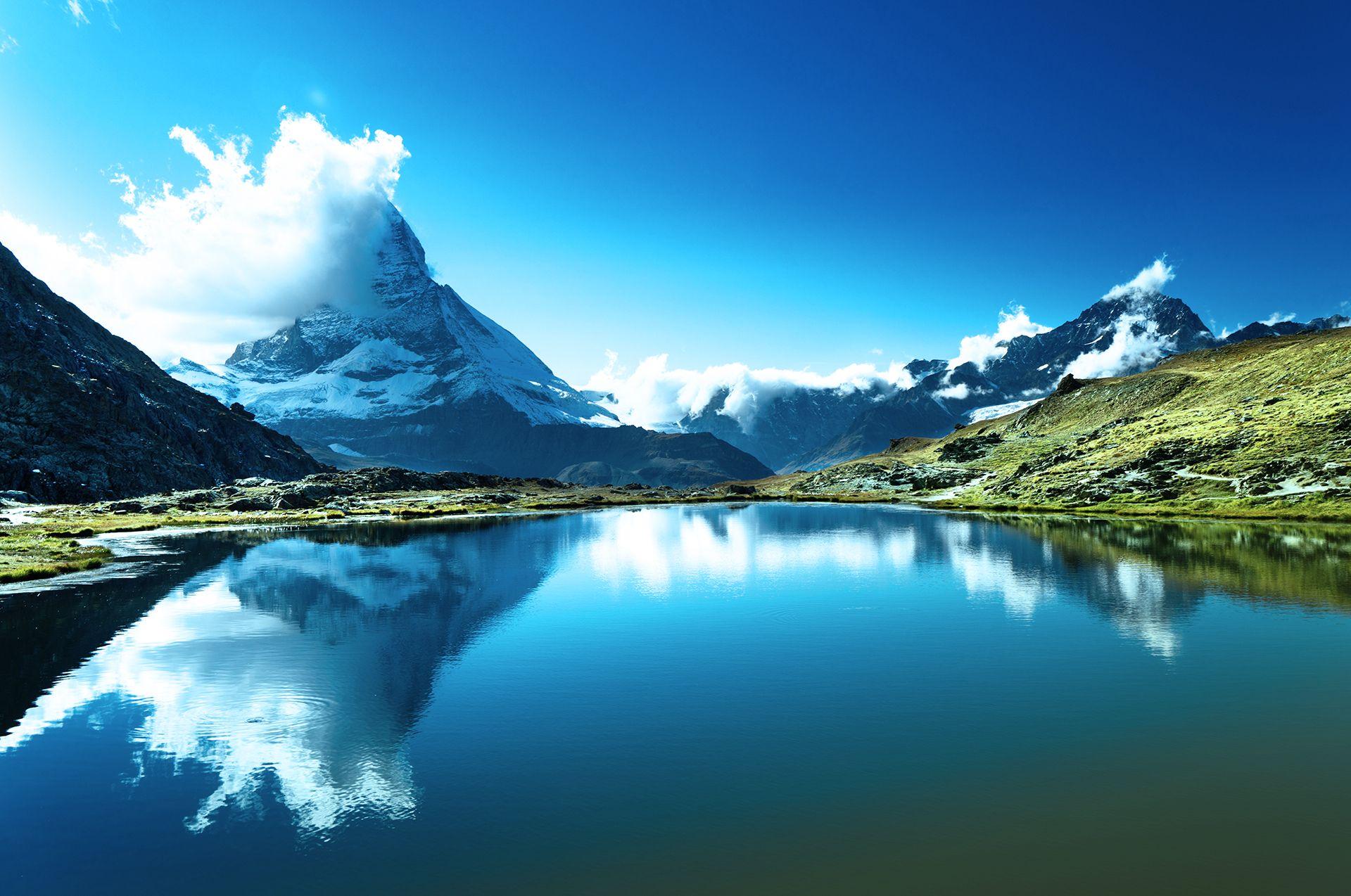 Utsikt til Matterhorn