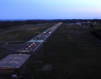 System for varsling av lavsikt-prosedyre på TORP flyplass