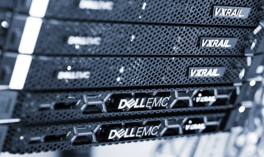 Hostingløsninger med VxRail fra Dell EMC.
