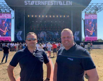 Comtech leverte Fiber og Nettverk på Stavernfestivalen 2019