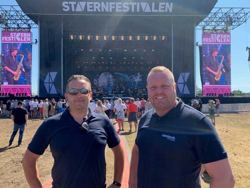 Comtech leverte Nettverk på Stavernfestivalen 2019